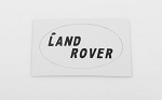 Rear Logo Decal for JS Scale 1/10 Range Rover Classic Body