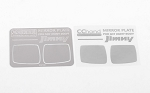 Mirror Decals for MST 1/10 CMX w/ Jimny J3 Body