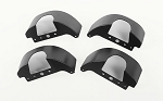 Aluminum Inner Fender Set for MST 1/10 CMX w/ Jimny J3 Body