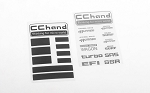 Metal Logo Decal Sheet for 1985 Toyota 4Runner Hard Body