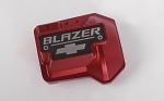 Aluminum Diff Cover for Traxxas TRX-4 Chevy K5 Blazer (Red)