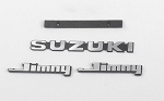 Metal Logo Set for Capo Racing Samurai 1/6 RC Scale Crawler (Style B)