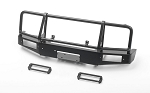 Trifecta Front Bumper for Capo Racing Samurai 1/6 RC Scale Crawler (Black)