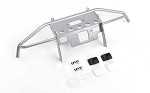 Guardian Steel Front Winch Bumper w/ IPF Lights for Axial 1/10 SCX10 II UMG10 (Silver)