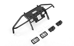 Guardian Steel Front Winch Bumper w/ Lights for Axial 1/10 SCX10 II UMG10 (Black)