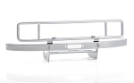 Ranch Steel Front Winch Bumper for Axial 1/10 SCX10 II UMG10 (Silver)