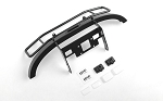 Ranch Steel Front Winch Bumper w/ IPF Lights for Axial 1/10 SCX10 II UMG10 (Black)