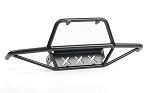 Tri-X Steel Stinger Front Bumper for Vanquish VS4-10 Origin Body (Black)
