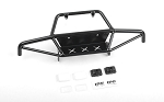 Tri-X Steel Stinger Front Bumper w/ IPF Lights for Vanquish VS4-10 Origin Body (Black)