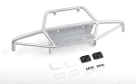 Tri-X Steel Stinger Front Bumper w/ IPF Lights for Vanquish VS4-10 Origin Body (Silver)