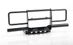 Oxer Steel Front Winch Bumper for Vanquish VS4-10 Origin Body (Black)