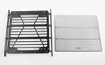 Command Roof Rack w/ Diamond Plate for Traxxas Mercedes-Benz G 63 AMG 6x6 (Style B)