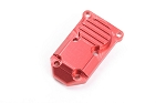 Micro Series Diff Cover for Axial SCX24 1/24 RTR (Red)