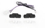Inner Fender Rock Lights w/ LED Light Kit for Axial 1/10 SCX10 III Jeep JLU Wrangler