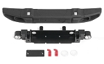 OEM Wide Front Bumper w/ License Plate Holder for Axial 1/10 SCX10 III Jeep JLU Wrangler