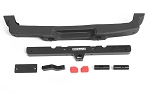 OEM Rear Bumper w/ Tow Hook + License Plate Holder for Axial 1/10 SCX10 III Jeep JLU Wrangler
