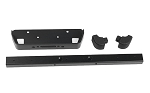 Classic Front Winch Bumper for RC4WD Gelande II 2015 Land Rover Defender D90 (Black)