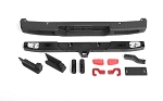 OEM Rear Bumper w/ Tow Hook and License Plate Holder for Axial 1/10 SCX10 III Jeep JT Gladiator