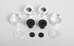 1.7 Aluminum Rear Beadlock Wheels for Overland Truck (2x)