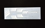 RC4WD Clean Stripes for 1987 Toyota Pickup (White)