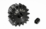 15t 32p Hardened Steel Pinion Gear