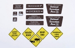 Tough Terrain Scale Signs