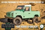 RC4WD Gelande II RTR W/ 2015 Land Rover Defender D90 Body Set (Heritage Edition)