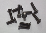 Titanium Flat Head Socket Cap Screws M3x12mm (10)