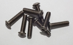 Titanium Hex Socket Screws M4x16mm (10)