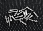 RC4WD Miniature Scale Hex Bolts (M3x12mm) (Silver)