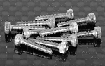 Socket Head Cap Screws M2 x 10mm (10)