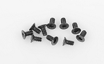 Steel Flat Head Cap Screw M2 X 4mm (10)