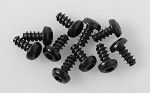 Button Head Self Tapping Screws M3 X 6mm (Black)
