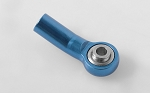 M3 Bent Medium Aluminum Rod Ends (Blue) (10)