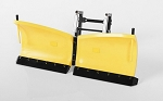 RC4WD Super Duty V Snow Plow (Yellow)