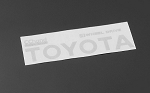 Metal Rear Emblem for TF2 Mojave Body (White)