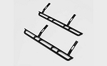Krabs Side Sliders for Axial SCX10 II XJ (Black)