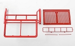 Roof Rack, Rollbar, Light Bar Combo for RC4WD Chevy Blazer Body (Red)