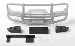 Trifecta Front Bumper for Land Cruiser LC70 Body (Silver)