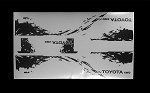RC4WD Dirty Stripes for Mojave II 2/4 Door Decal Sheet (Black)