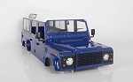 RC4WD Gelande II D110 Complete Body Set (Dark Blue)