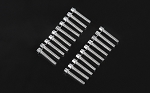 RC4WD Miniature Scale Hex Bolts (M2.5 X 12mm) (Silver)
