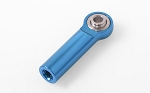 M3/M4 Long Straight Aluminum Rod Ends (Blue) (10)