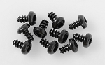 Button Head Self Tapping Screws M3 X 5mm (Black)