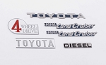 Cruiser Body Emblem Set