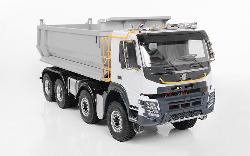 home > heavy machinery > 1/14 8x8 armageddon hydraulic dump truck (fmx)