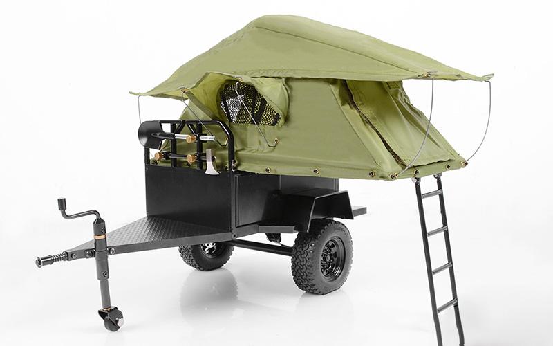 Home u003e Scale Accessories u003e RC4WD Bivouac 1/10 M.O.A.B C&ing Trailer w/Tent  sc 1 st  RC4WD & RC4WD Bivouac 1/10 M.O.A.B Camping Trailer w/Tent