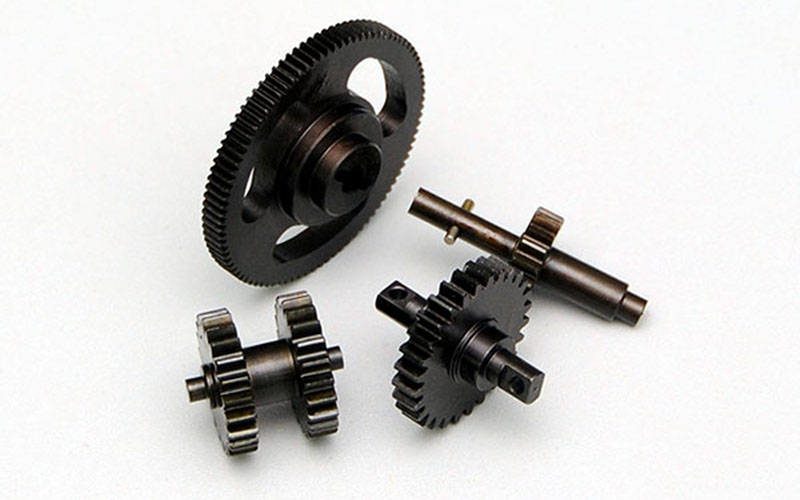 Hardened Steel Transmission Gears for HPI Wheely and Crawler King