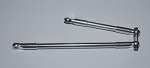 Front Steering Links for D40 Axles (Silver)