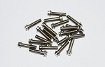 RC4WD Miniature Scale Hex Bolts (M2.5 x 10mm) (Silver)